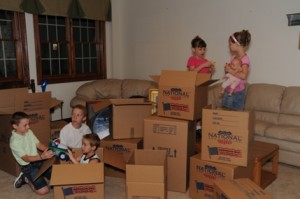 How to Make Moving Day Smooth for Kids
