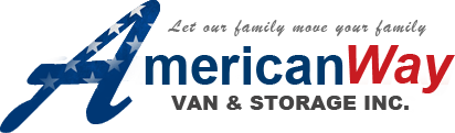 American Way Van & Storage Inc. Logo